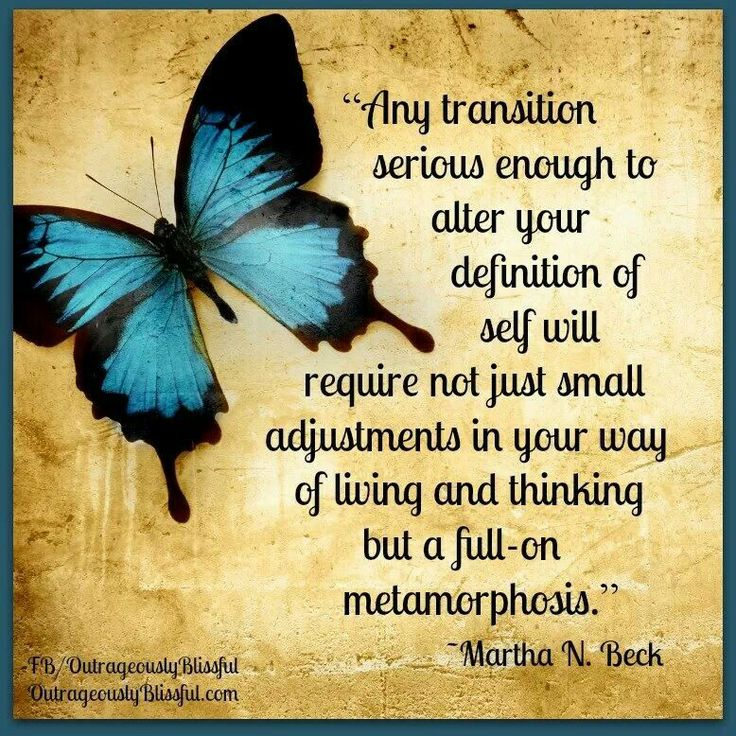 life transition quotes