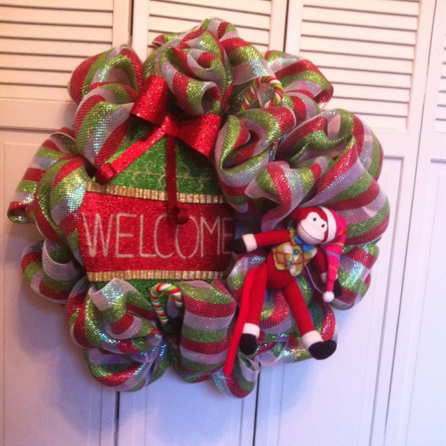 Christmas wreath craft ideas pinterest for Pinterest christmas craft ideas