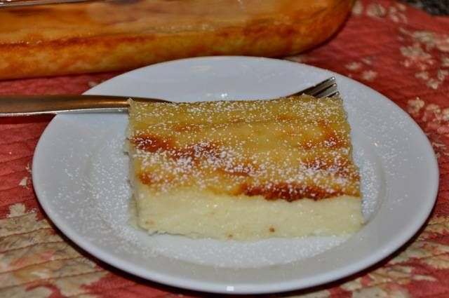 Custard Pie - Galatopita | OPA! DESSERTS & SWEET TREATS | Pinterest