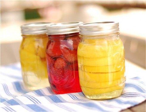 homemade fruit vodka - Yes Please!!!