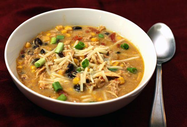 Crock Pot Enchilada Soup | recipes | Pinterest