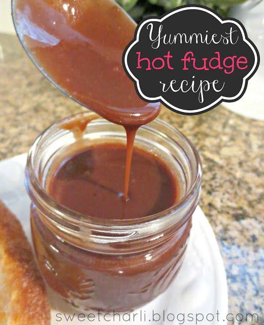 Hot Fudge Recipe | Yum | Pinterest