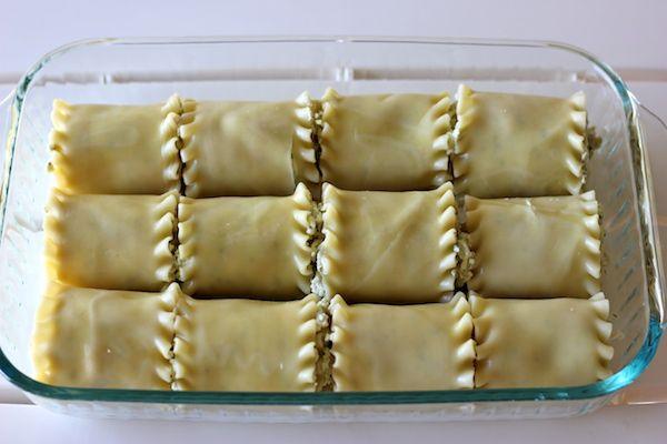 Chicken Pesto Lasagna Roll-Ups - Comfort food in easy single serving ...