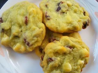 ... Adjustment: Cranberry White Chocolate Pistachio Pudding Cookies