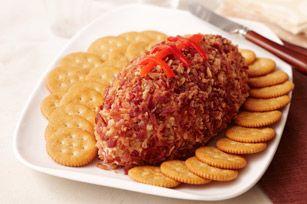 RITZ Cheesy Football recipe