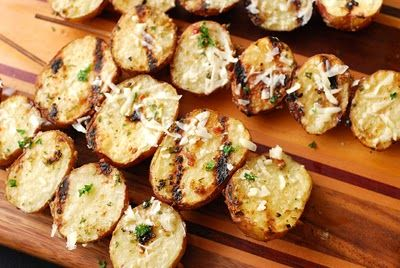 Grilled Potatoes | Food | Pinterest