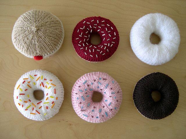 Knit donuts   Bridal Shower/Bachelorette Party ideas!   Pinterest