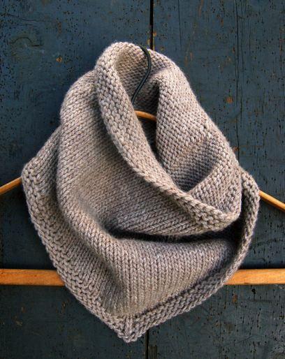 Purl bee bandana cowl Knitting Pinterest