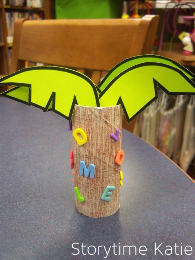 Chicka Chicka Boom Boom craft | Children's Story Time ... - photo#28