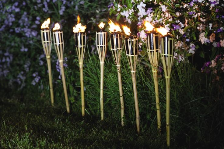 Backyard Tiki Torches : backyards