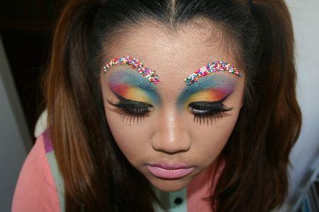 Inspired Makeup http://www.makeupbee.com/look_Candy-Inspired-Makeup