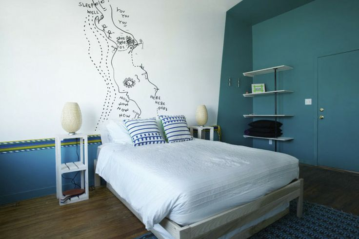 Schlafzimmer Streichen : The Playland Motel is housed in an historic 19thcentury building that