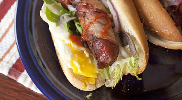 Breakfast hot dogs- not hot dogs for breakfast, just hot dogs with ...