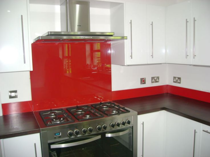 Best Red White And Grey Kitchen 640 x 480