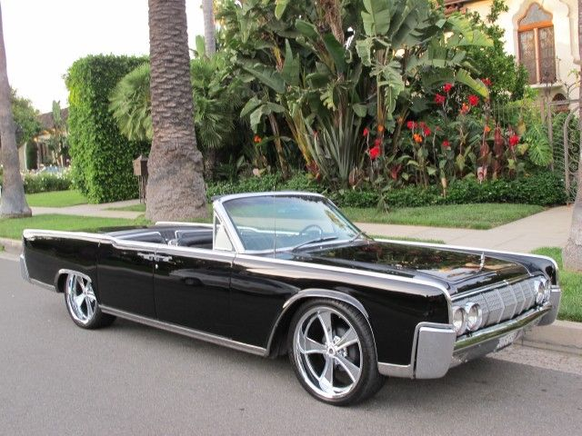 1964 lincoln continental convertible cool cars pinterest. Black Bedroom Furniture Sets. Home Design Ideas