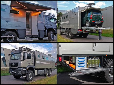 Action Mobil Adds Car Carrying Atacama Motorhome To Its Rv