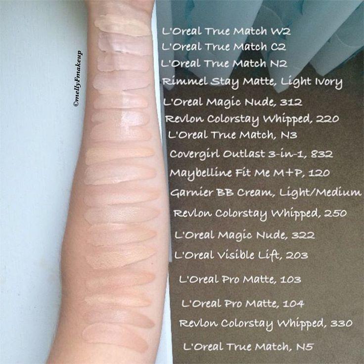 Similiar Revlon Color Match Keywords