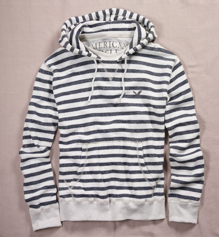 Mens comfy hoodie nautical ... what more can you ask for @Cheryl Baksi hook up? #americaneagle #hoodie