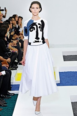 Jil Sander Spring 2012 collection inspired by Picasso