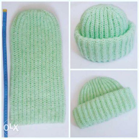 Как связать модную стильную шапку для девушки спицами? Как вязать шапку