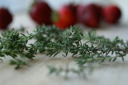 Strawberry n' Thyme Jam | Put 'Em Up! | Pinterest
