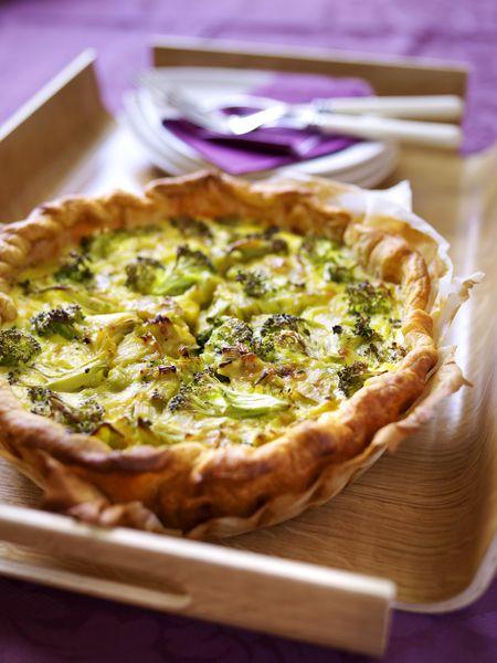 Recepten - Broccoli-preitaart | Food brunch | Pinterest