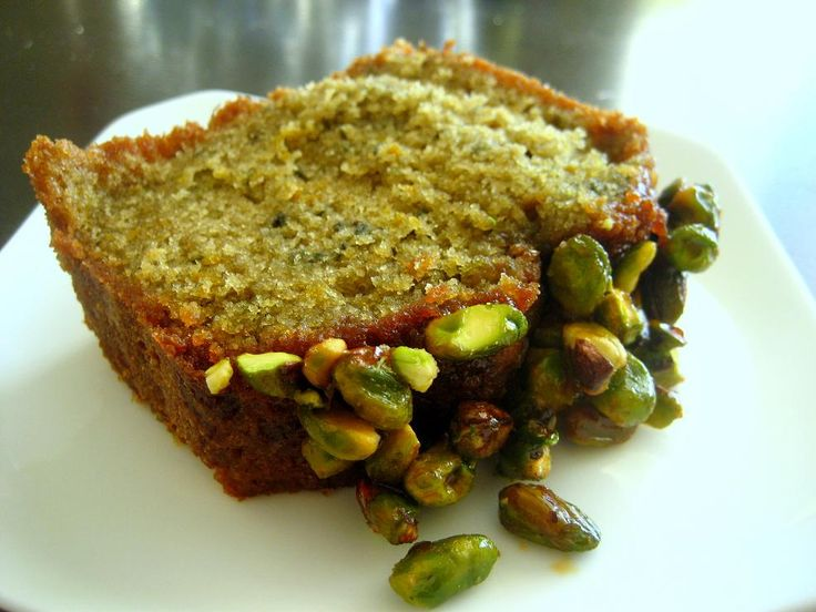 Blood Orange Olive Oil Cake with Candied Pistachios | Recipe