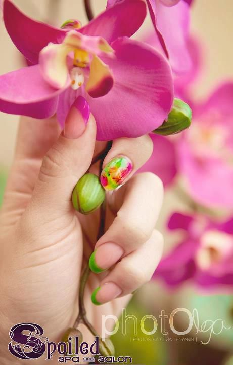 nail inspiration! Created at Spoiled Spa and Salon in Vancouver, WA