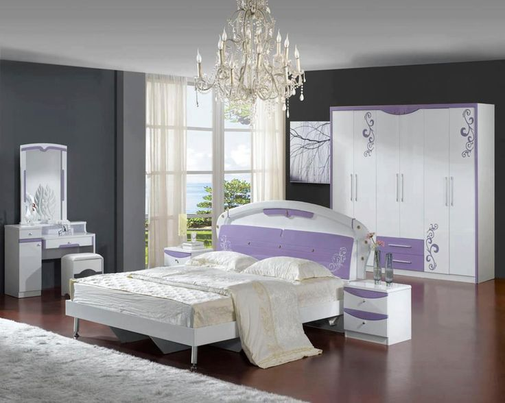 bright white lilac bedroom guestroom pinterest
