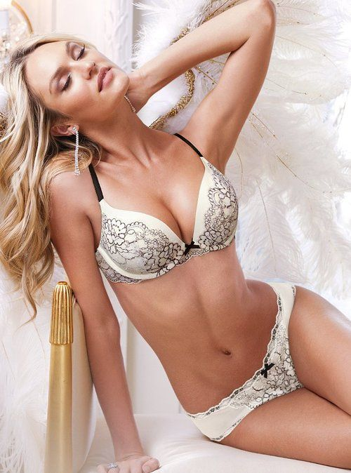 Victoria Secret Model Candice Swanepoel Lingerie