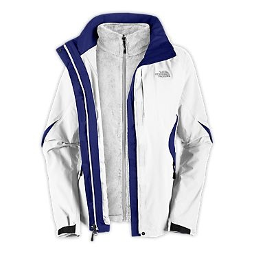 The North Face Women's Jackets & Vests WOMEN'S BOUNDARY TRICLIMATE