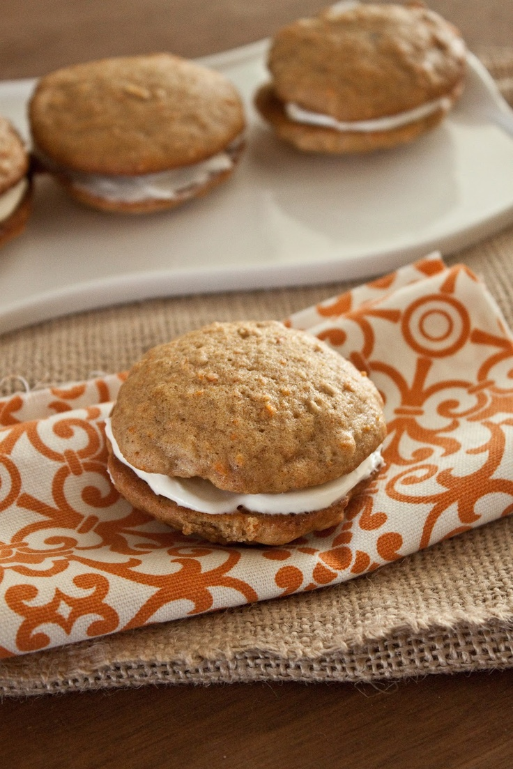 What's up, Doc? Inside-Out Carrot Cake Cookies! (From Sweet Treats and ...