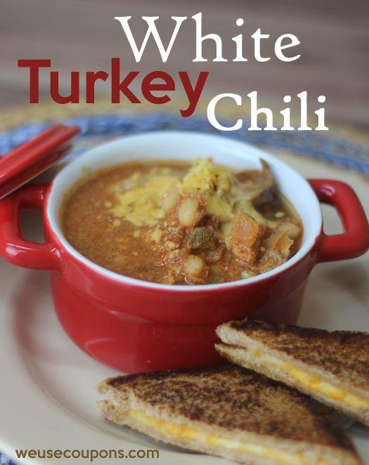 White Turkey Chili | Soups | Pinterest