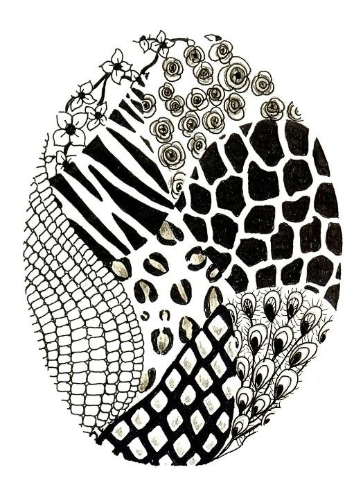 Zentangle Patterns How To