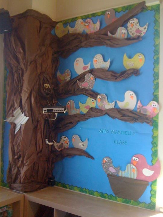 Classroom mural for grade 2 bulletin board ideas pinterest for Classroom mural