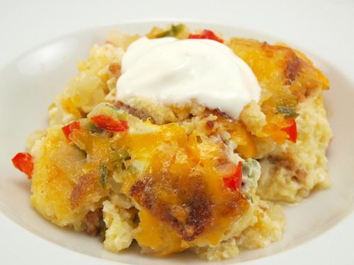 Cornbread Pudding | Baking and Cooking Blog - Evil Shenanigans