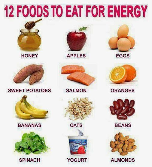 foods that boost your energy getting healthy pinterest