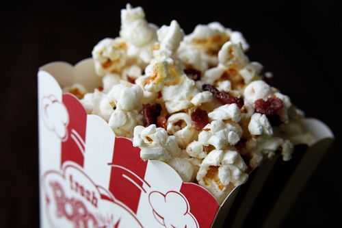 Loaded Bacon Popcorn, courtesy of A Southern Bite. I make this ...
