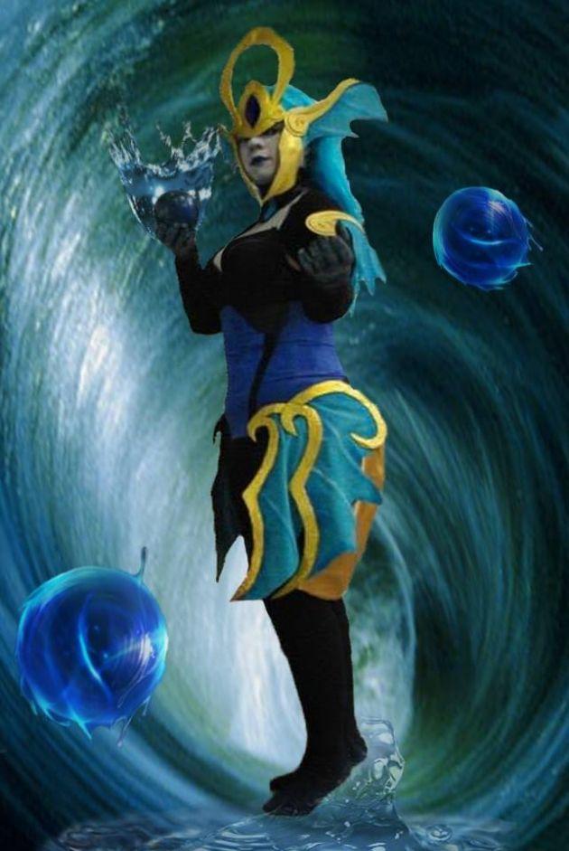 atlantean syndra cosplay league of legendsLeague Of Legends Syndra Cosplay