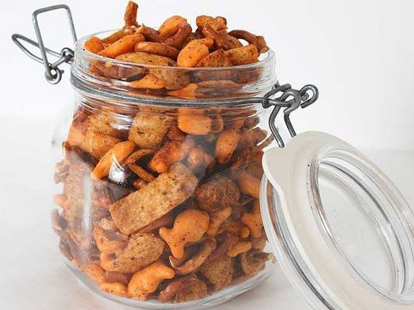 Goldfish Fiesta Snack Mix - iVillage | Just things I liked | Pinterest