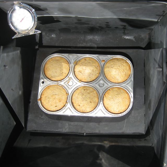 BANANA CORNBREAD MUFFINS | Sun Oven Recipes | Pinterest