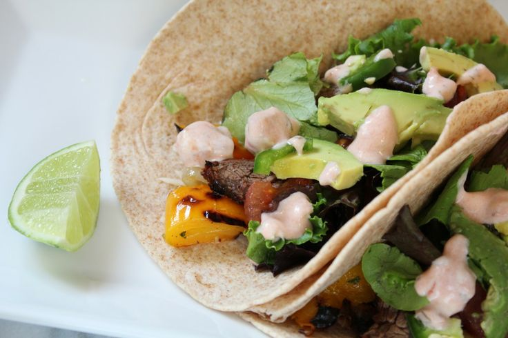 Chili Lime Steak Fajitas {Food Matters Project} | Pidge's Pantry