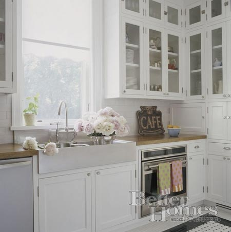 Beautiful white kitchen My Better Homes and Gardens