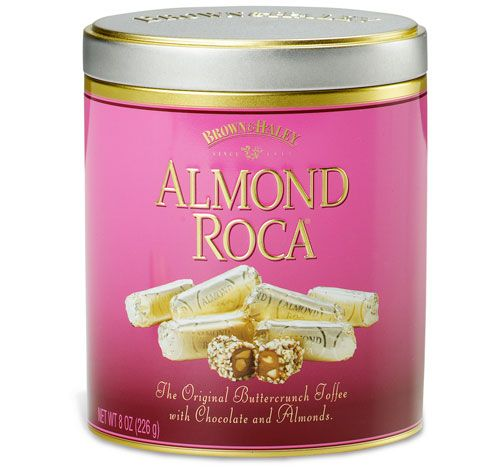 Almond Roca. [The chocolate brand I grew up with. My father used to ...