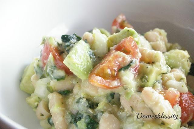 avocado cherry tomato quinoa bean salad | Quinoa | Pinterest