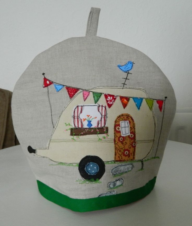 Campervan Tea Cosy Knitting Pattern : Tea Cosy Caravan Craft Pinterest