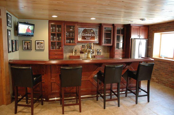 basement pub for the home pinterest