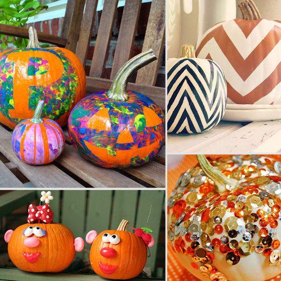 Pumpkin Decorating Ideas Pinterest Projects Craft Day