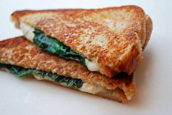 Grownup Grilled Cheese Sandwich - Grownup, because the ingredients are ...