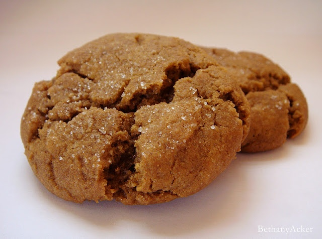 Delicious Gingersnap Cookie Recipe | nom nom nom | Pinterest